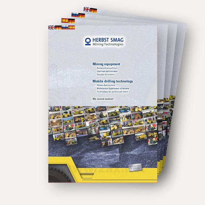 Print ax kommunikation design for Mappe produktdesign